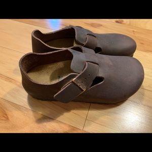 d1d0d5fee87927 Birkenstock. Birkenstock London oiled leather shoes. Size 36